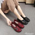 老北京布鞋女網鞋中老年人透氣平底閏月媽媽鞋防滑軟底老人奶奶鞋 黛尼時尚精品