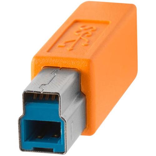 TETHER TOOLS CUC3415-ORG TetherPro USB C 轉 USB 3.0 Type B 傳輸線 4.6M 延長線 公司貨