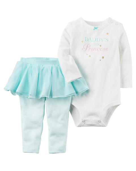 【美國Carter's】套裝2件組-Daddy的小公主 121H688