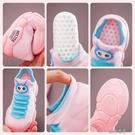 快速出貨 兒童毛毛蟲運動鞋款寶寶學步鞋透氣軟底小童網鞋休閒飛織童鞋