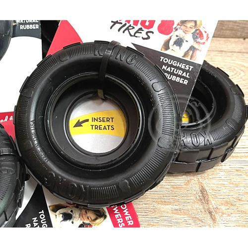 【培菓寵物48H出貨】美國 KONG Tires寵物輪胎-S號 超耐咬 安全 無毒 橡膠 幼犬玩具