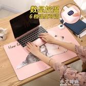學生宿舍超大滑鼠墊加熱桌墊辦公室暖桌墊暖手桌墊發熱鼠標鍵盤墊【小艾新品】