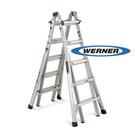 美國Werner穩耐安全鋁梯-MT-22 鋁合金伸縮式多功能梯  萬用梯(荷重136公斤)