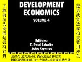 二手書博民逛書店Handbook罕見Of Development EconomicsY256260 Schultz, T. P
