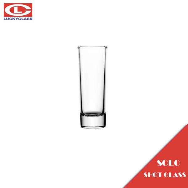 泰國LUCKY SOLO SHOT 60mL SHOT杯 小酒杯 烈酒杯 清酒杯 SHOT GLASS 試管杯