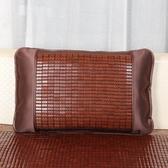 夏天雙面碳化麻將枕套夏季涼席枕頭套單人竹席枕套枕席 QQ24568『MG大尺碼』