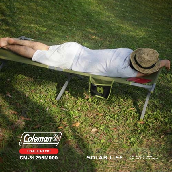 Coleman TRAILHEAD 露營行軍床/CM-31295.戶外行軍床 加寬折疊床 行動午睡床 簡易躺椅 露營單人床