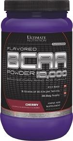 【線上體育】 ULTIMATE NUTRITION 調味 支鏈胺基酸 12,000/Cherry 457g
