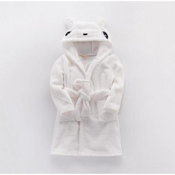 雙11購划算-兒童睡袍女小男孩秋冬珊瑚絨公主浴袍女孩秋季新品寶寶法蘭絨睡衣