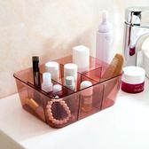 化妝品收納盒多格梳妝臺浴室桌面首飾收納【奇趣小屋】