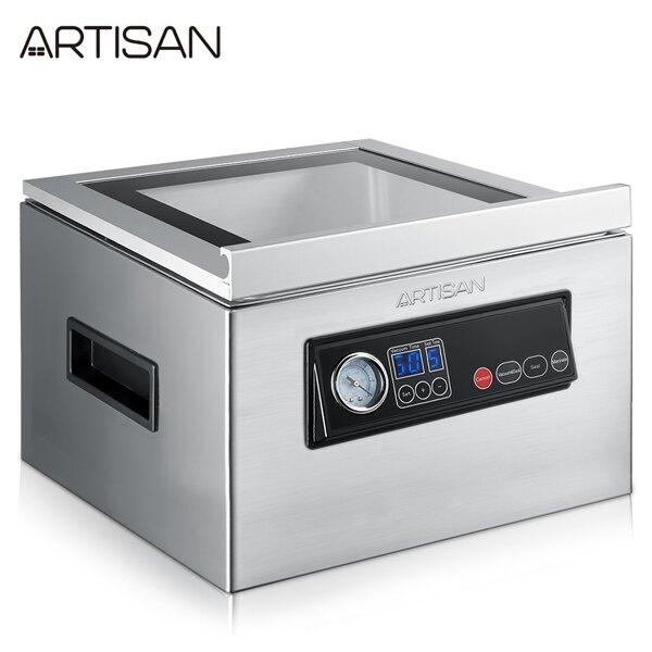 ARTISAN 不鏽鋼乾濕二用腔式真空包裝機/附支撐桿 CVS4300