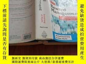 二手書博民逛書店Reward罕見managementY23042 Michael