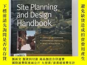 二手書博民逛書店site罕見planning and Design HandbookY22264 Thomas H. Russ