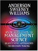 二手書博民逛書店《An Introduction to Management S