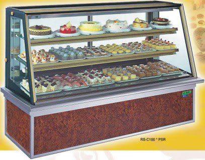 斜面彩玻型 西點蛋糕冷藏櫃【6尺冰櫃】型號:C-106PSR