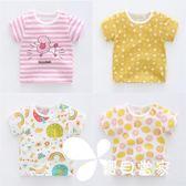 女寶寶半袖1歲3夏裝短袖純棉t恤女童夏季嬰兒童裝上衣兒童2018新2