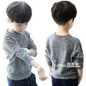 毛衣-兒童棉線毛衣新款男童秋冬套頭針織衫外套中大童秋裝打底上衣 korea時尚記