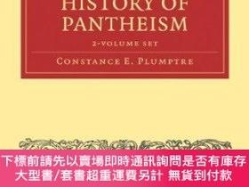 二手書博民逛書店General罕見Sketch Of The History Of Pantheism - 2 Volume Se