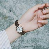 韓國潮流時尚森女錶韓版簡約皮帶學生復古百搭小巧女生小清新手錶   LM々樂買精品