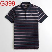 HCO Hollister Co. 男 Polo G399