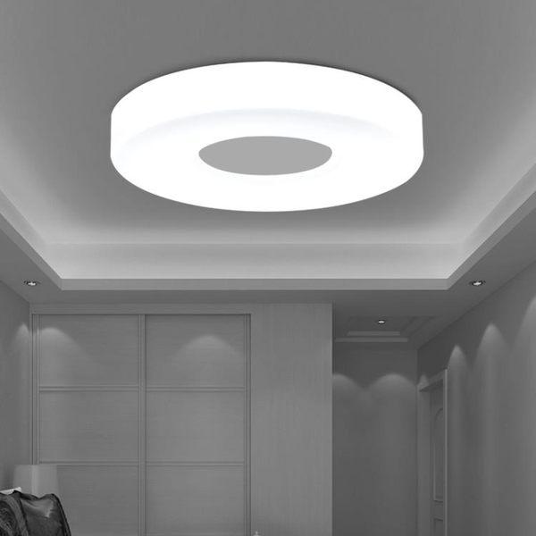 吸頂燈 創意LED圓形臥室客廳陽臺過道廚房走廊燈現代簡約溫馨燈具 - 古梵希