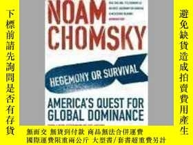二手書博民逛書店Hegemony罕見or Survival? America s