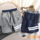 兒童純棉七分褲夏款薄短褲外穿休閒中褲中大男童運動褲【淘嘟嘟】