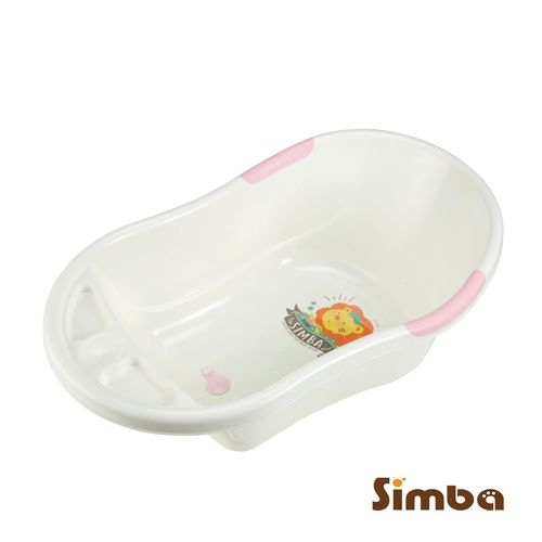 小獅王辛巴 Simba 嬰兒防滑浴盆(麗芙粉)S9818[衛立兒生活館]
