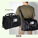 New Balance 手提包 NB Sports Bag 黑 白 男女款 斜背 健身包 運動休閒 【ACS】 LAB13102BK