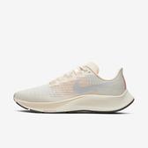 Nike W Air Zoom Pegasus 37 [BQ9647-102] 女鞋 慢跑 運動 輕量 緩衝 米 灰