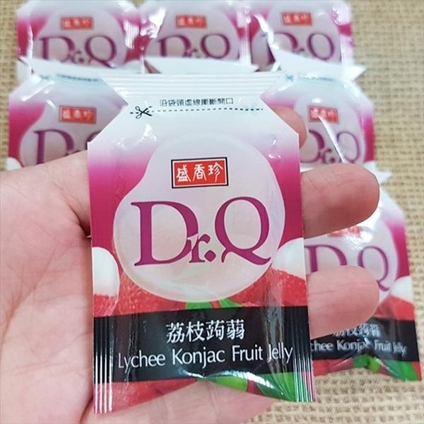 盛香珍Dr.Q蒟蒻果凍-荔枝口味 600g(約25個)【2019070800027】(台灣果凍)