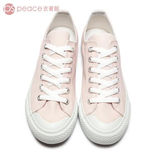 帆布鞋-peace衣著館-MIT手工鞋-綁帶帆布鞋/休閒鞋,粉色