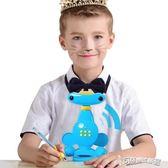 坐姿矯正器 貓太子學生近視智慧語音坐姿矯正器兒童寫字糾正姿勢視力保   11-6