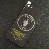日本潮牌 NEIGHBORHOOD NBHD iPhone5S/ 5 專用 手機/機身保護貼 骷髏頭 中指 經典賽 台日大戰 F**K YOU