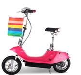 12寸女士迷妳電動車豚電動滑板車電動自行車折疊小型電瓶車代步車 MKS免運