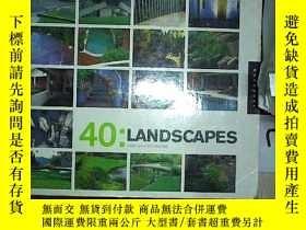 二手書博民逛書店40:LANDSCAPES罕見40:風景(402)Y203004