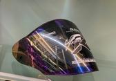 SBK安全帽,SUPER-RR,ABS版專用電鍍鏡片