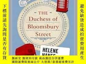 二手書博民逛書店重返查令十字街84號罕見英文原版 The Duchess of Bloomsbury StreetY33573