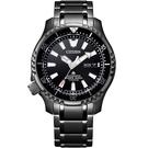 CITIZEN 星辰 PROMASTER 鈦黑河豚限量機械錶(NY0105-81E)42mm