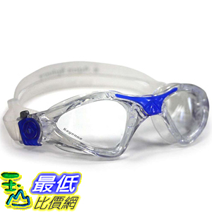 [美國直購] Aqua B002ZWAZHE 泳鏡 蛙鏡 Sphere Kayenne Goggle With Low Profile Clear Lens, Deep Blue