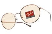 RayBan太陽眼鏡RB3612D 903593 (棕金-棕鏡片) 王嘉爾聯名x熱銷經典復古款 # 金橘眼鏡