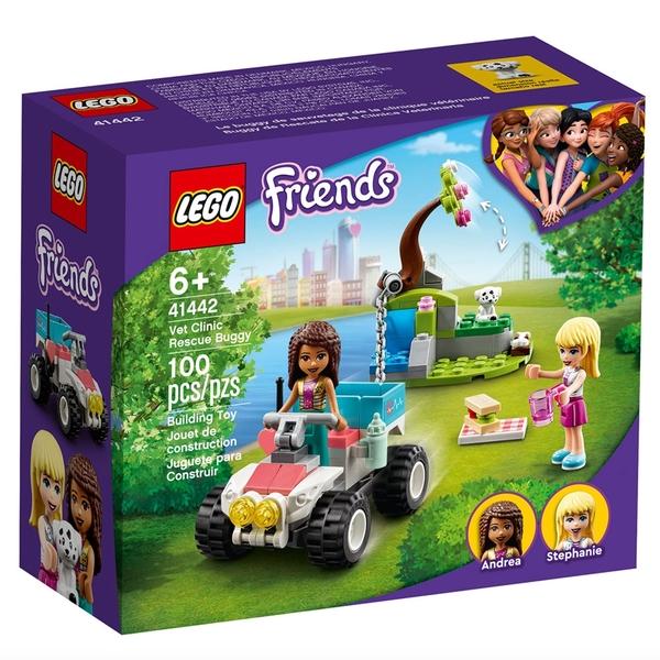 LEGO樂高 Friends系列 獸醫診所救援越野車_LG41442
