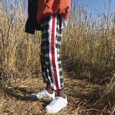 夏季男士長褲子韓版潮流嘻哈寬鬆運動褲哈倫褲休閒褲     米娜小鋪