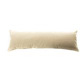 浮紋編織對色長抱枕40x120cm咖