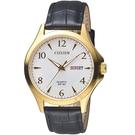 CITIZEN星辰經典雅痞時尚腕錶  BF2003-25A