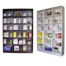 台灣製-120寬x180高-大型18格書櫃 書架 置物櫃 收納櫃(2色)W318