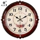 客廳時鐘 鐘表掛鐘客廳簡歐式時尚個性創意電子石英鐘家用靜音時鐘掛表【快速出貨八折搶購】