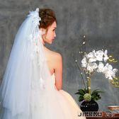 流蘇風情精致新娘頭紗浪漫百搭柔軟頭紗