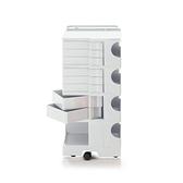 【預購】B-Line Boby Storage Mod.L H94.5cm 巴比 多層式系統 收納推車 - 特高尺寸 (八抽屜收納) 白色