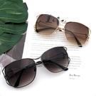 歐美風太陽眼鏡時尚流行美學金屬墨鏡眼鏡台...